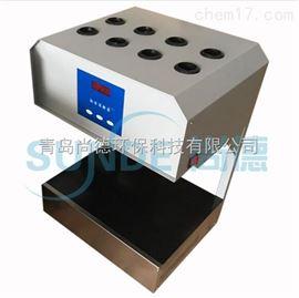 SN-101A(8孔) 微晶玻璃面板标准COD消解器 COD自动消解回流仪(同时消解8个样)