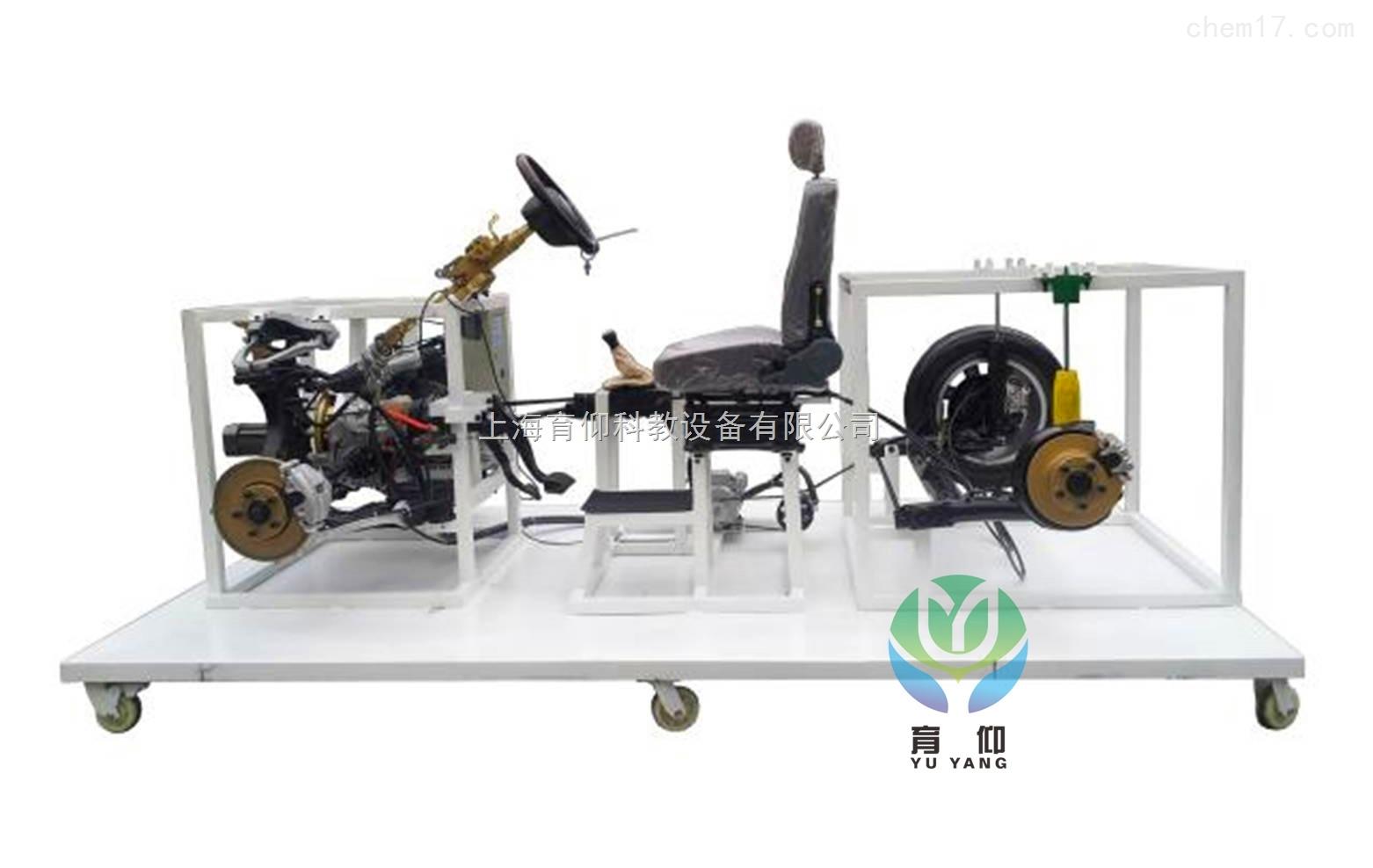 yuy-jg56整车悬架结构展示与拆装实训台(桑塔纳)|汽车底盘实训设备