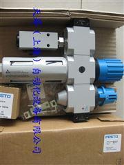 FESTO不带油雾器的空气预处理单元LFR/LFRS,D系列LFR-1/2-D-MIDI-KF-A