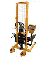DCS-XC-L倒油桶电子秤,油桶搬运车电子称,油桶搬运车电子秤(倒桶秤),液压油桶搬运车