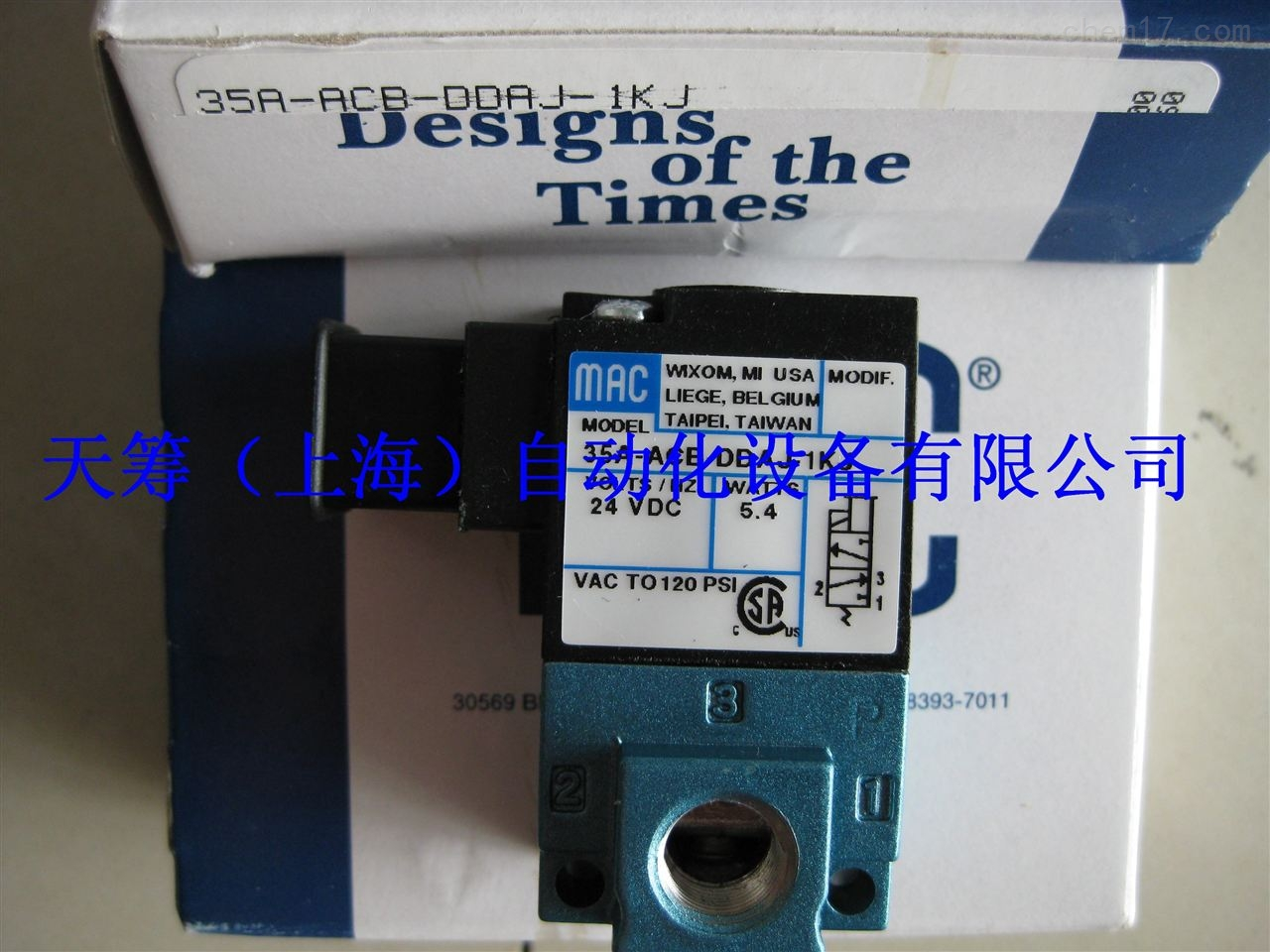 MAC电磁阀35A-ACB-DDAJ-1KJ