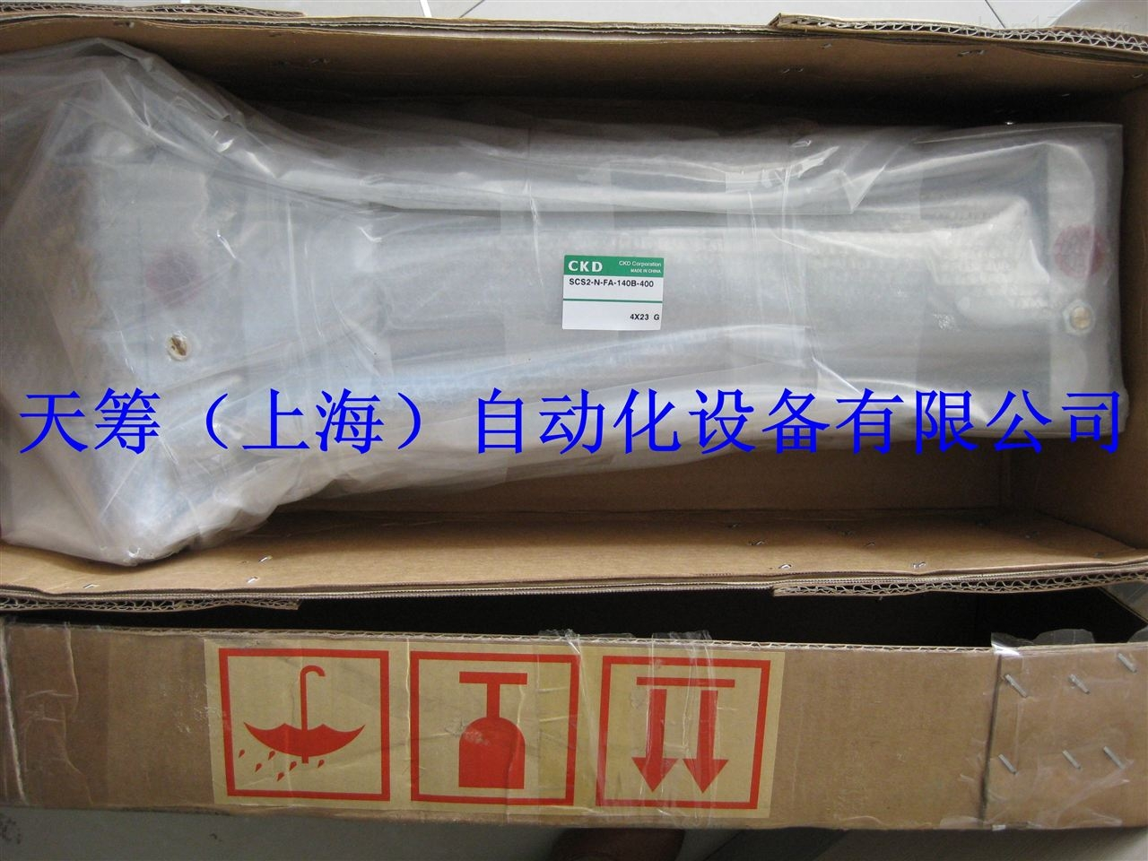 CKD气缸SCS2-N-FA-140B-400