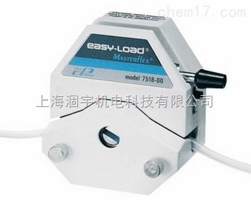Masterflex用于精密管的L/S Easy-Load泵头 07516-10、07516-00