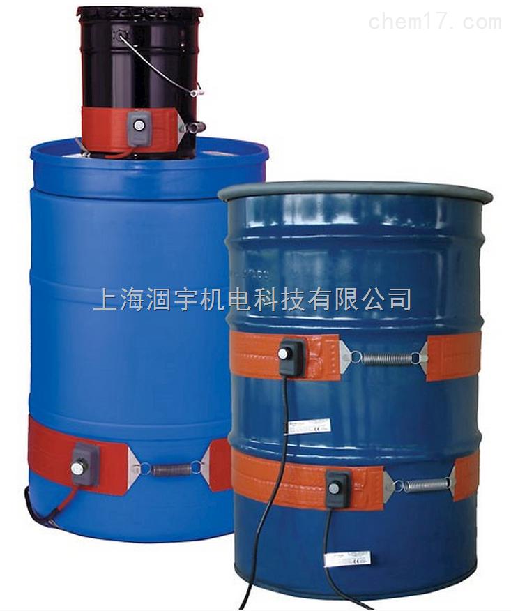 美国进口BriskHeat带温度控制器的圆桶加热带