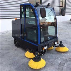 工廠大量粉塵用駕駛式電動掃地吸塵機