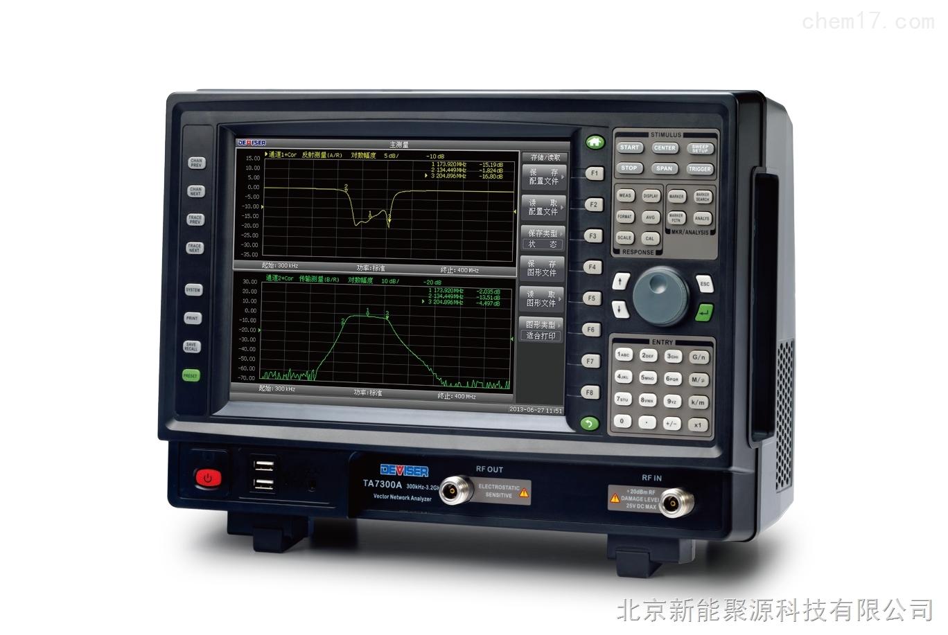聚源TA7100矢量網絡1.8GHz分析儀