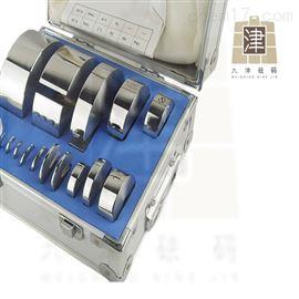 F2盒装10kg圆形砝码10千克不锈钢砝码定制