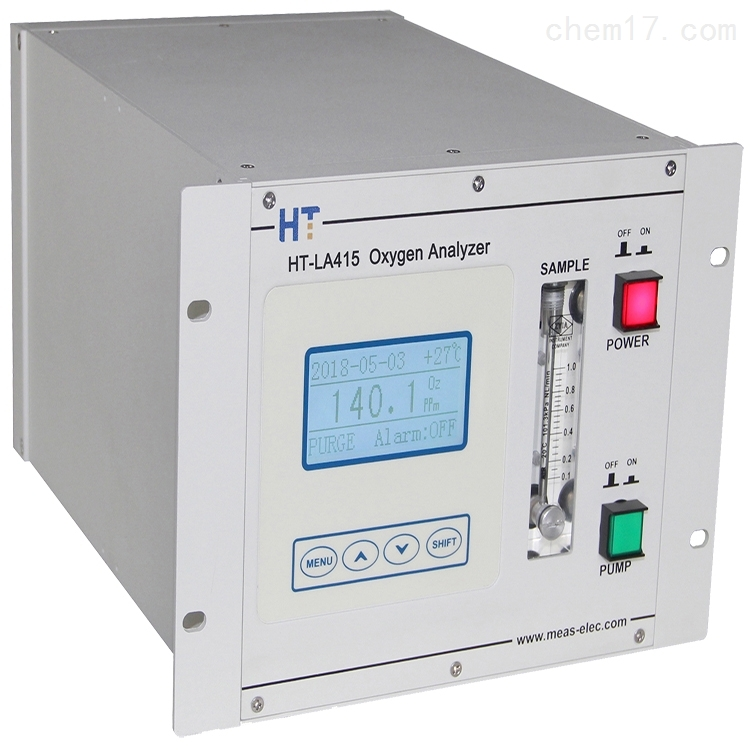 燃料电池氧分析仪