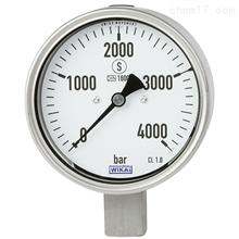 PG23HP-P德国威卡WIKA不锈钢材质波登管压力表