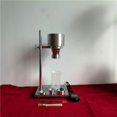 黑碳化硅段砂堆积密度仪使用方法