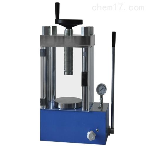 防护型60吨手动陶瓷粉末压片机