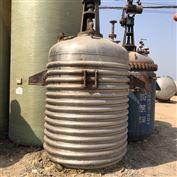 二手5吨不锈钢反应釜销售多台