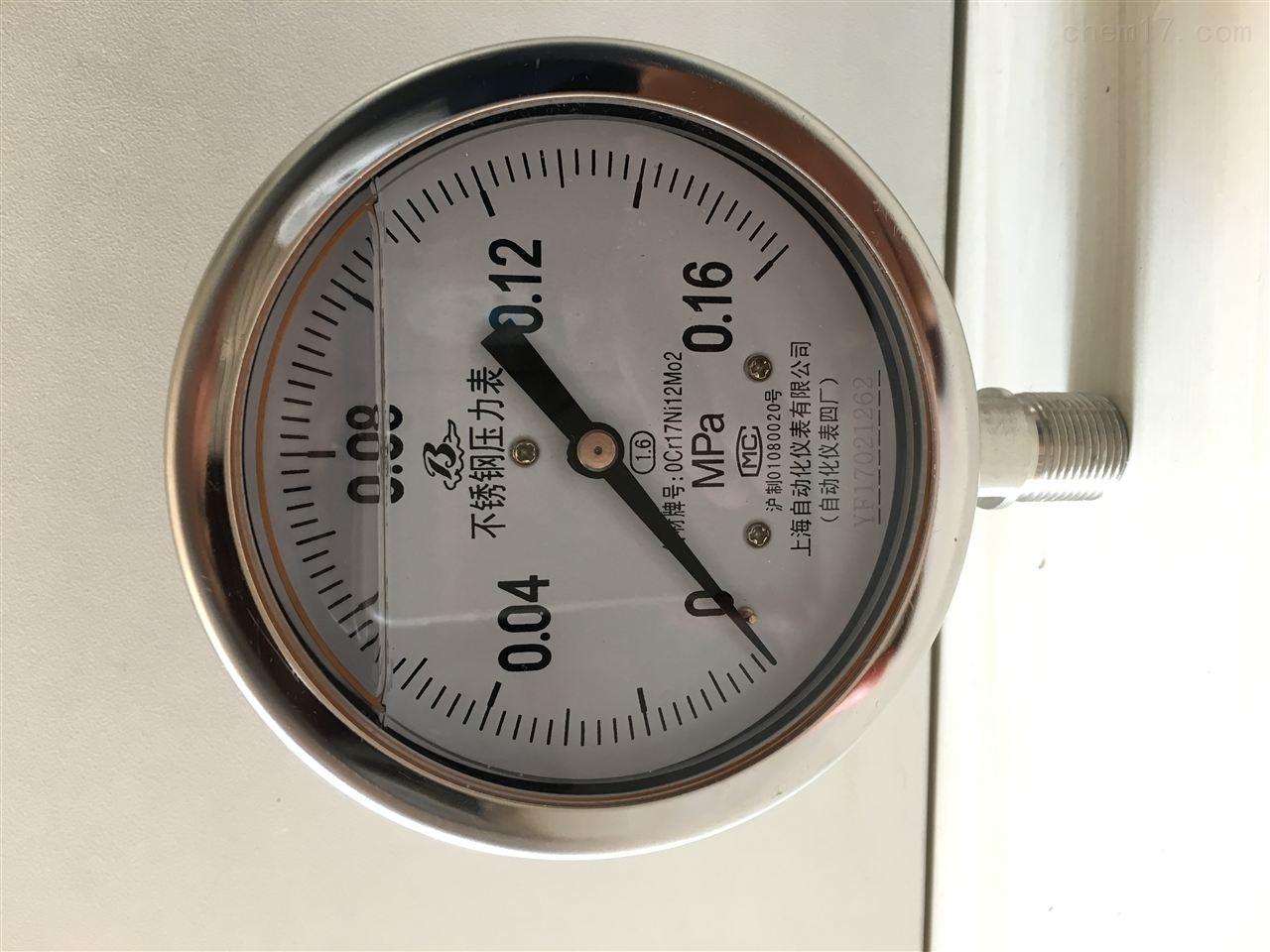 耐腐耐震压力表Y-100FZ