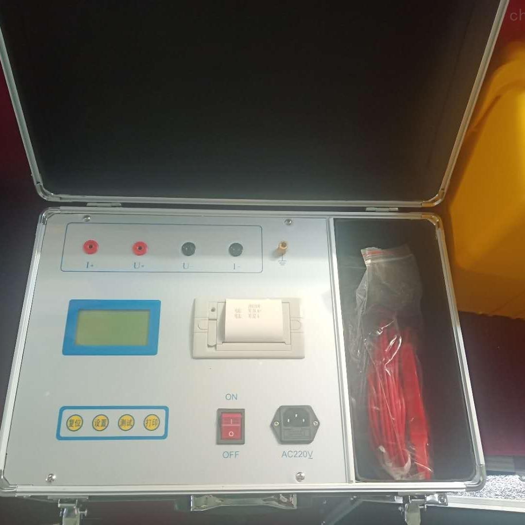 三级电力资质许可证接地导通测试仪