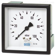 614.11, 634.11德国威卡WIKA铜合金或不锈钢材质膜盒压力表