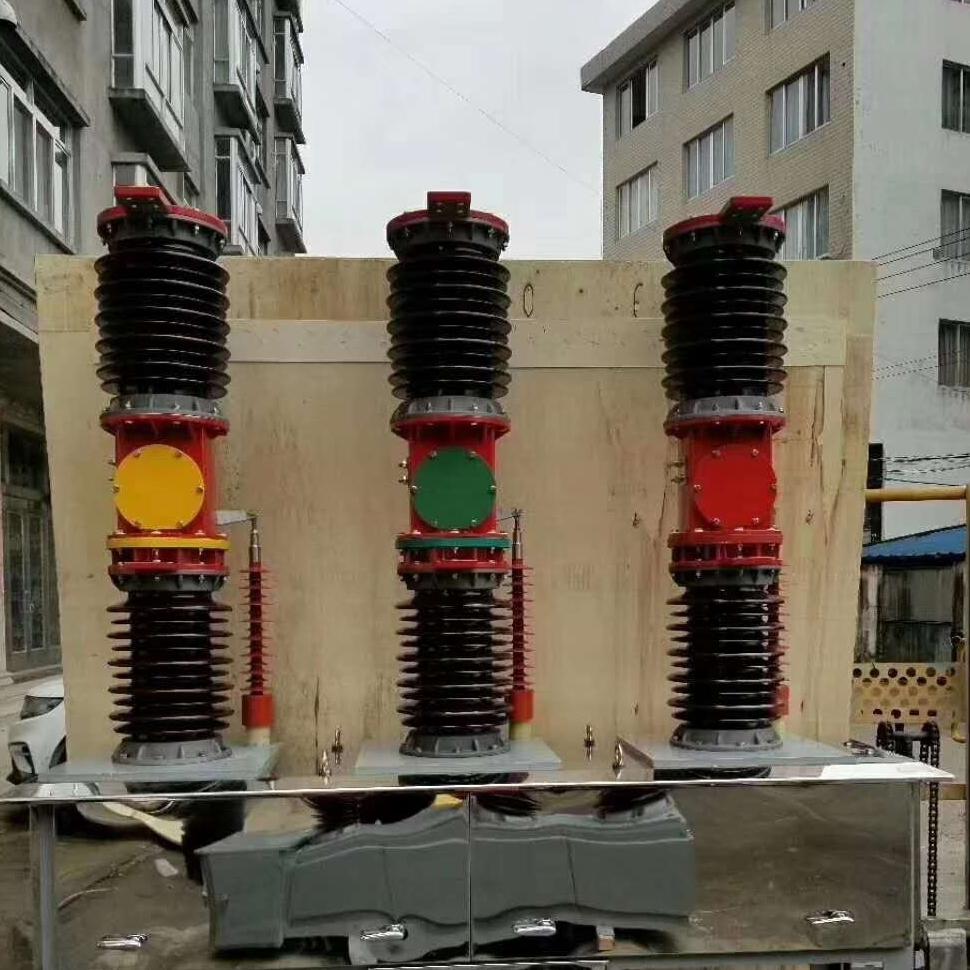 厂家直销柱上智能电站型35KV真空断路器成都