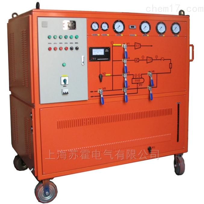 二合一SF6气体抽真空及回收装置