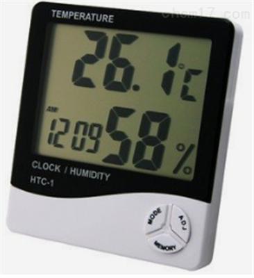 HTC-1办公室数显温湿度计