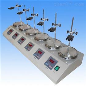 HJ-4A,HJ-6A 多头数显恒温磁力搅拌器
