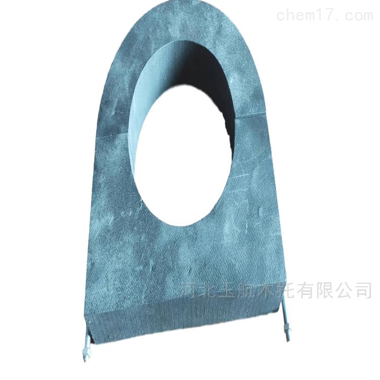冷冻水管安装专用 保温PE橡塑管托