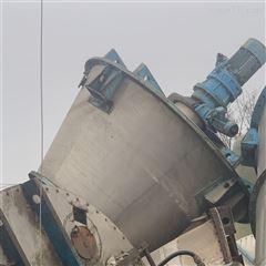 1--20立方出售大量二手螺带 饲料 双轴混合机搅拌机