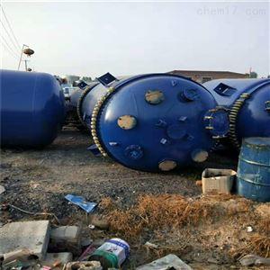 石家庄出售二手10吨搪瓷反应釜