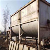 出售二手15吨卧式螺条混合机上海