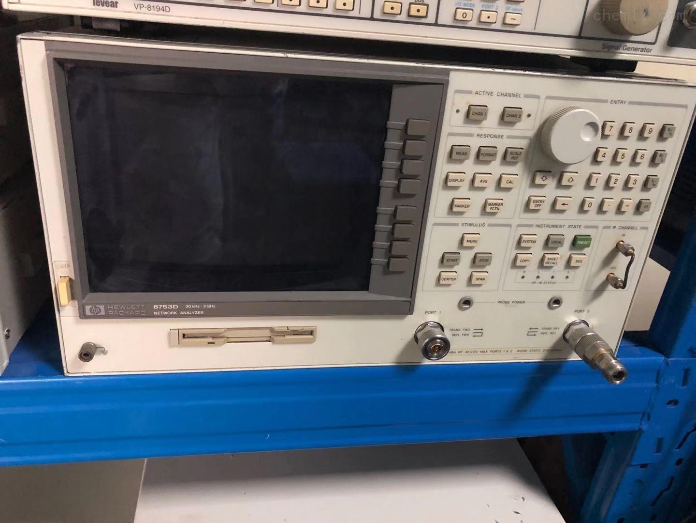 銷售HP8753D網絡分析儀