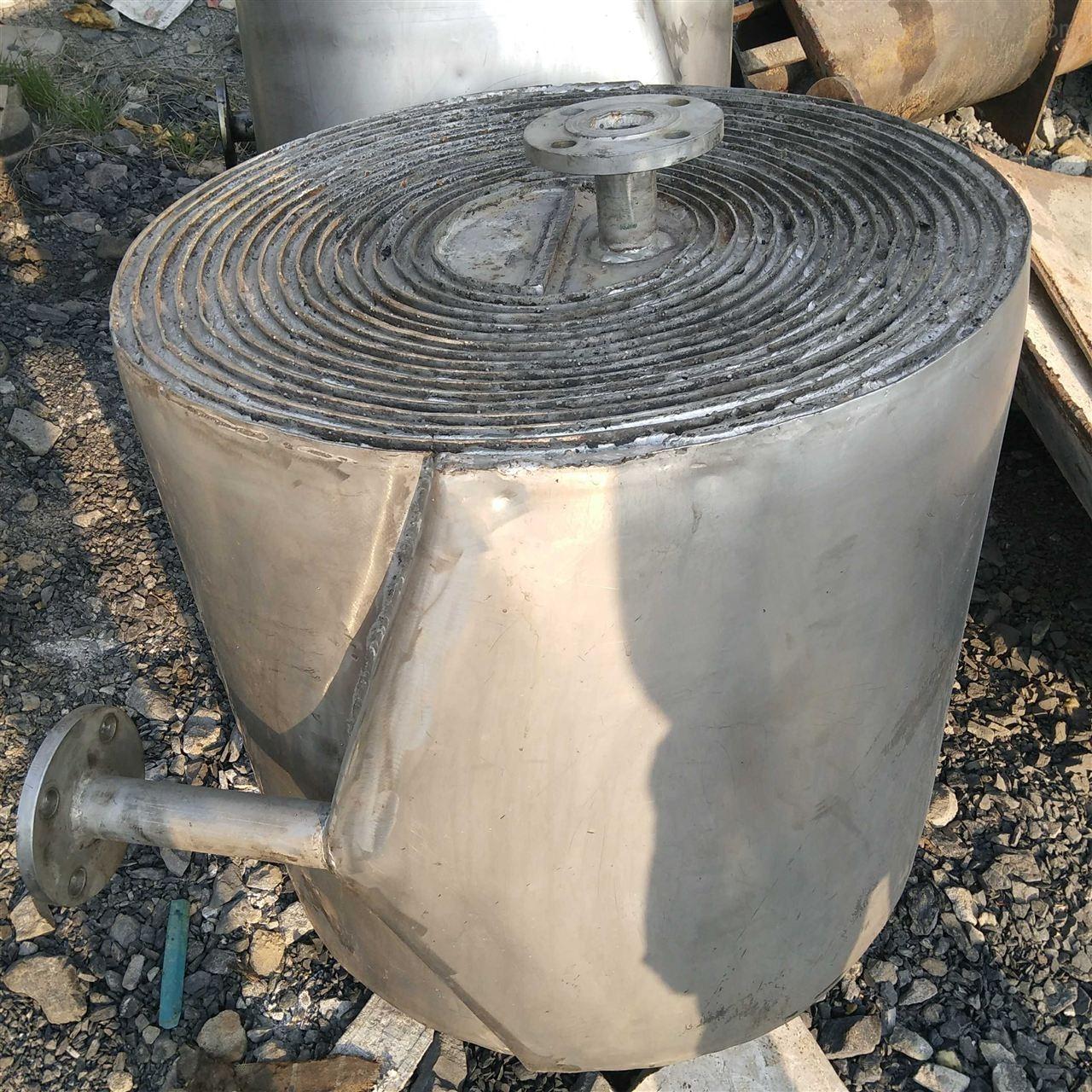 高价回收二手螺旋板换热器