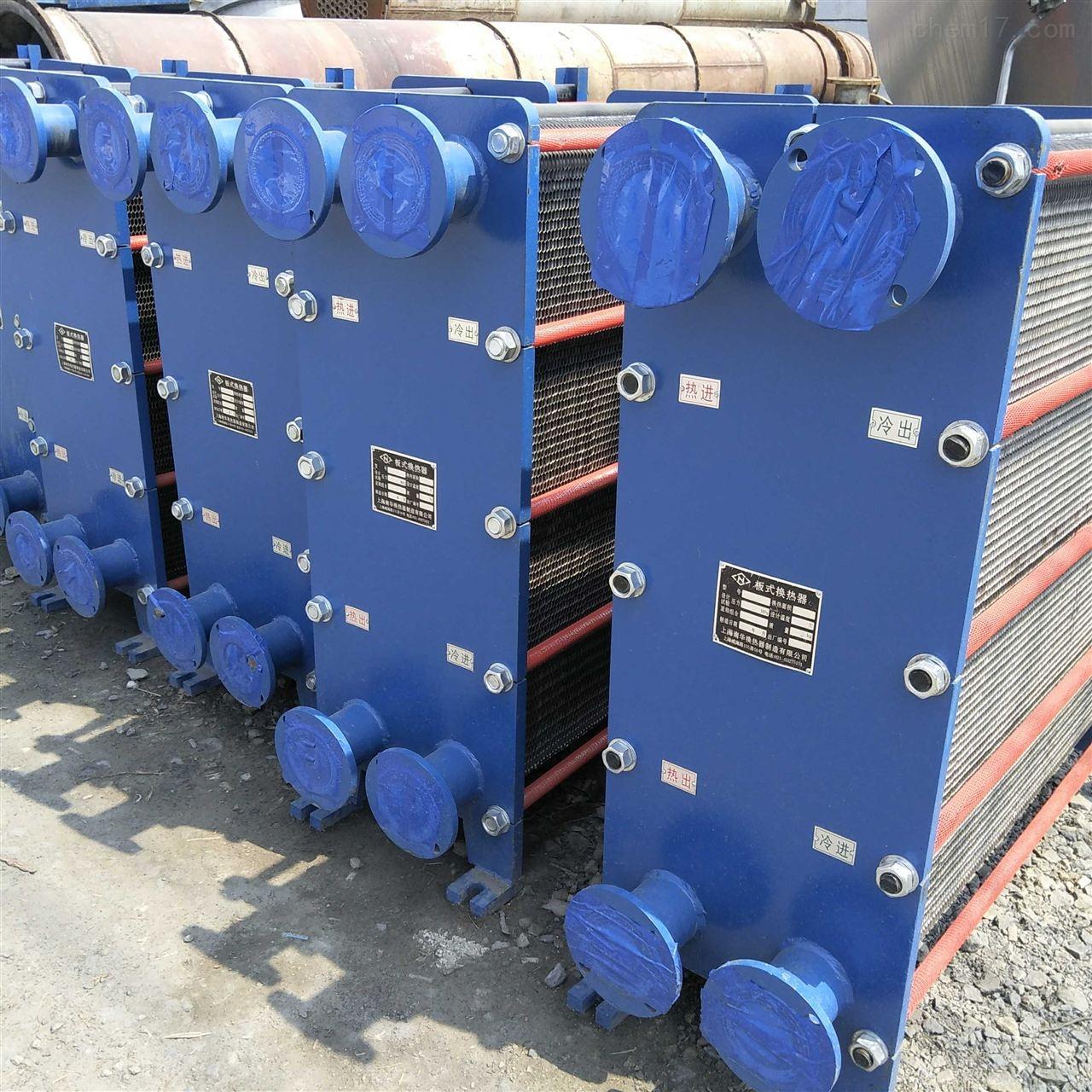 新到一批二手板式换热器 热交换器/冷却器