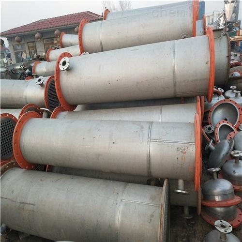 二手不锈钢材质列管冷凝器价格