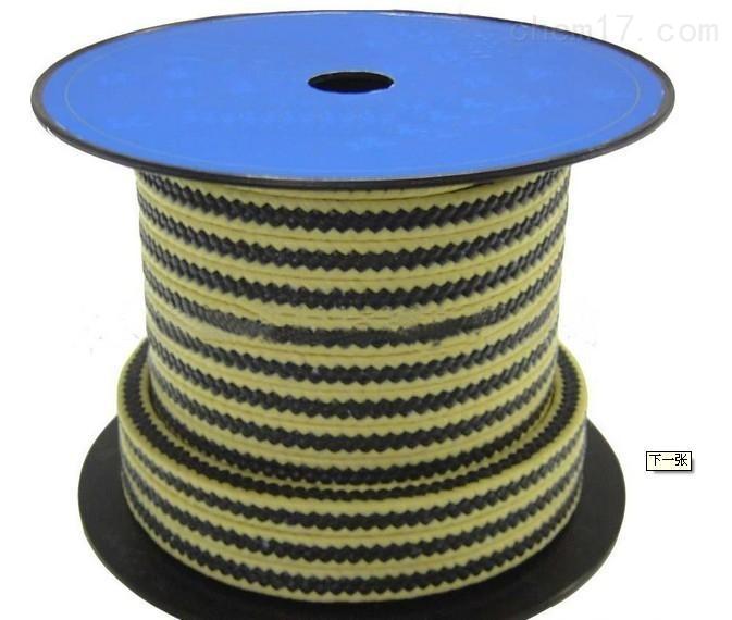 供应芳纶碳素混编盘根厂家,耐高温芳纶盘根图片