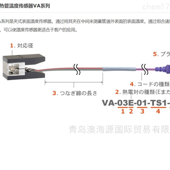 安立ANRITSU热管温度传感器VA系列热电偶