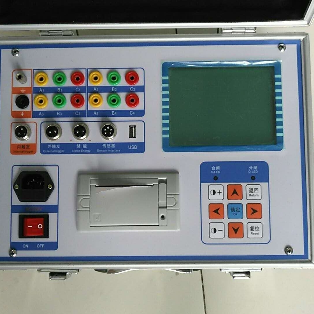 高压开关机械分合闸同期弹跳时间动作行程