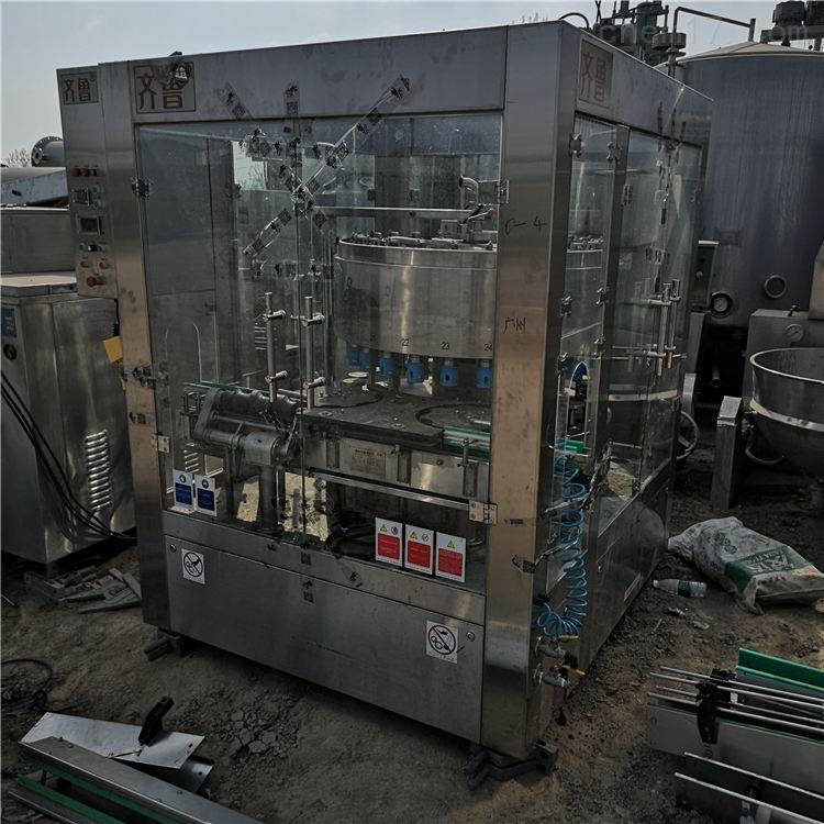出售二手白酒灌装生产线 回收灌装机设备