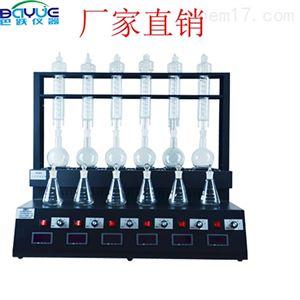 一体化蒸馏仪测定