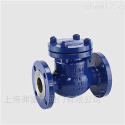 旋启式止回阀 作用是防止管路中的介质倒流