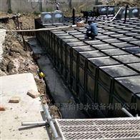 成品发货山西大同地埋式一体化消防泵站 思源制造