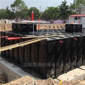 地埋水箱河南省南阳地埋式消防水池的内部细节配置