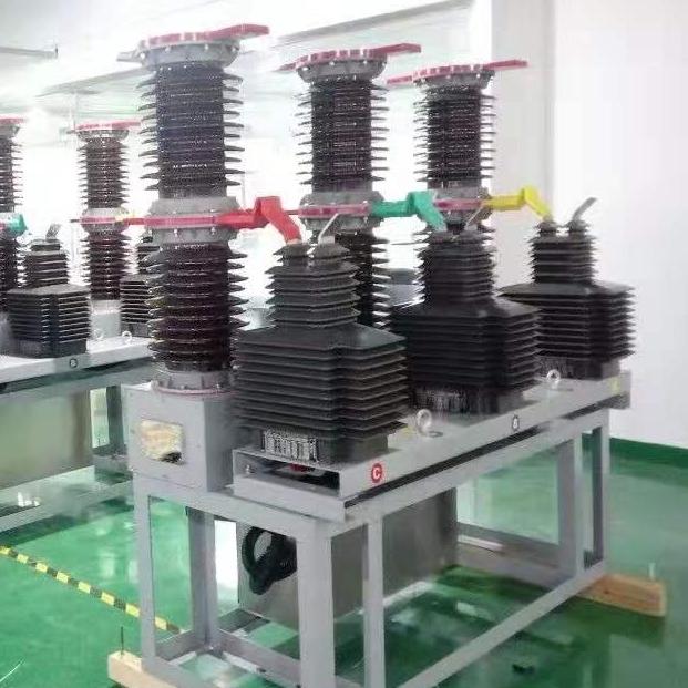 安阳市ZW7-40.5/1250A电动操作真空断路器