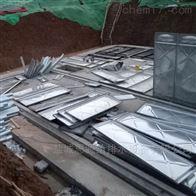 厂家安装无地板地埋式消防水池案例-通州医院项目