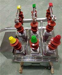 ZW8-12G真空断路器手动带隔离刀闸