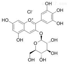 氯化飞燕草素-3-O-葡萄糖苷标准品