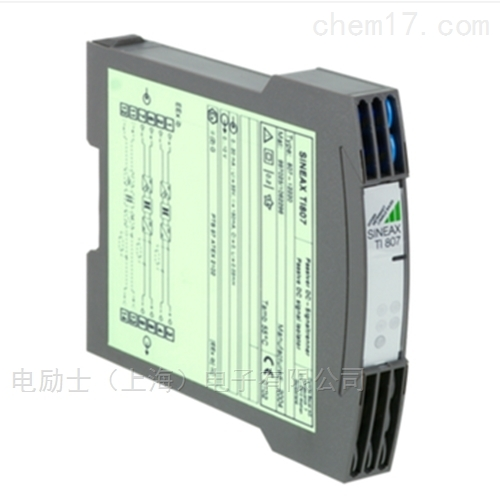 无源信号变送器_隔离器SINEAX TI807-1