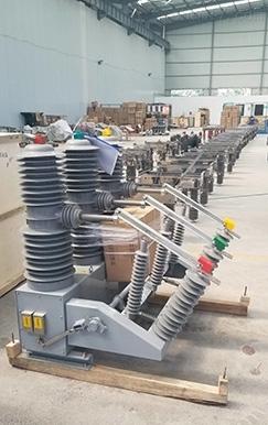 35KV电杆安装真空断路器价格图片