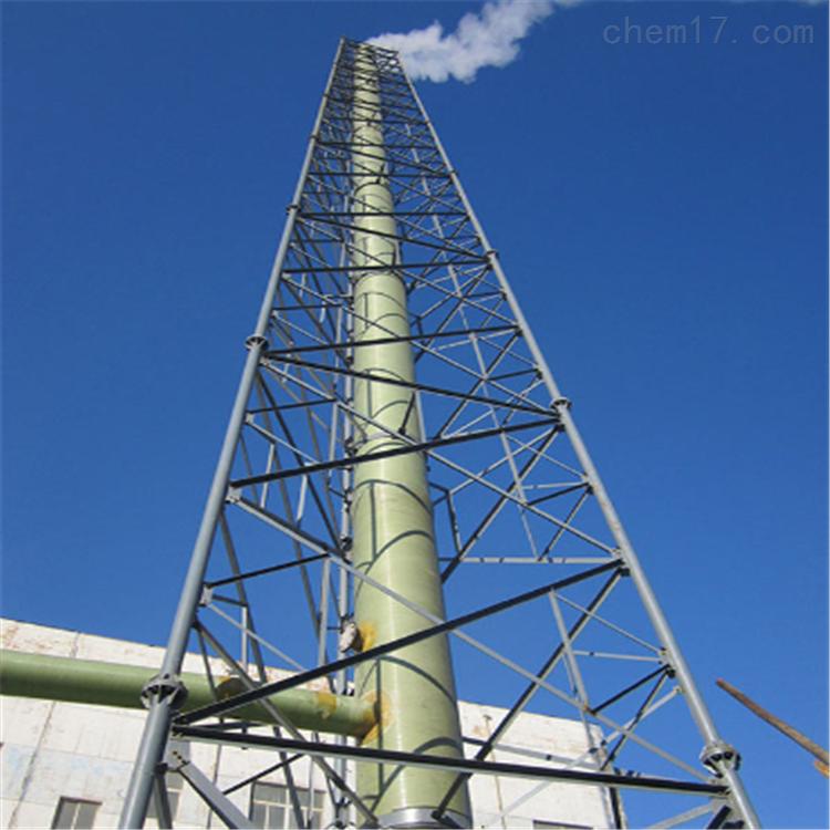 耐腐蚀玻璃钢排放烟囱