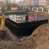 地埋水箱西安地埋式消防泵站项目