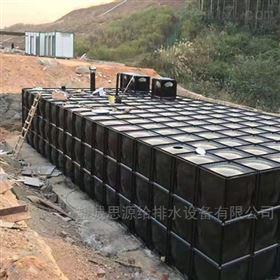 抗浮式箱泵一体化的组成结构