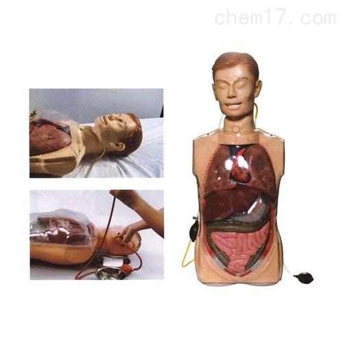多功能透明洗胃模型