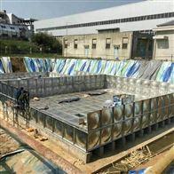 鹰潭地埋式消防水池装车